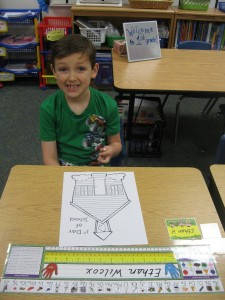 Ethan on the 1st day of 1st grade!