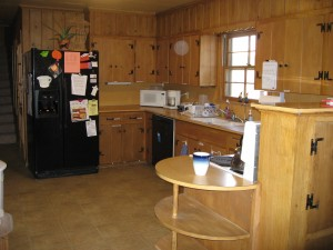 Kitchen at Initium House - MSU